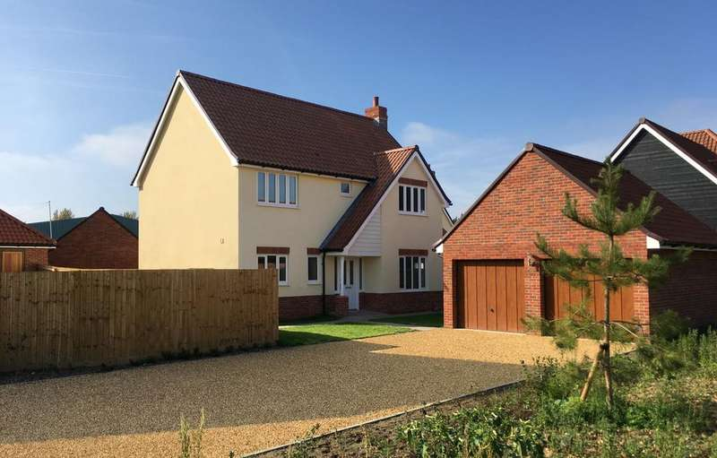4 Bedrooms Detached House for sale in Plot 30 - Wellington Close, Chedburgh, Bury St Edmunds, IP29 4WE