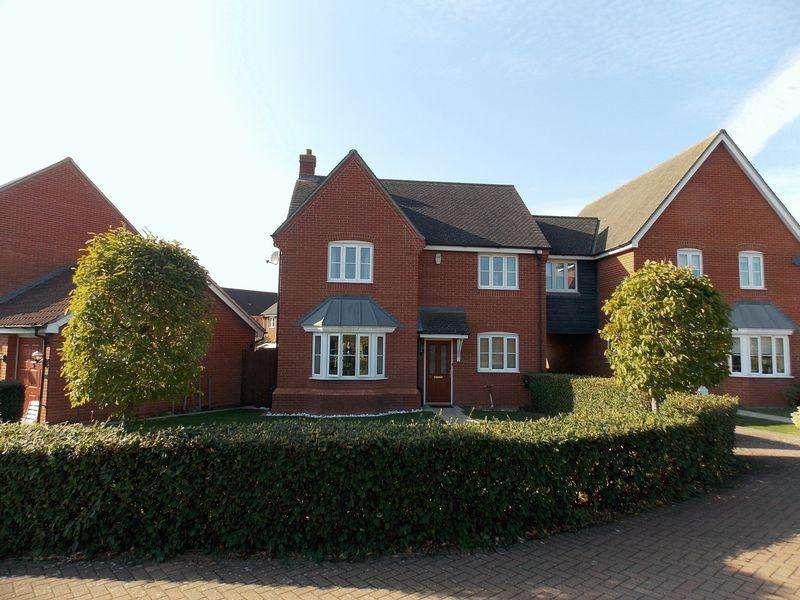 4 Bedrooms Detached House for sale in Blackbird Drive, Bury St. Edmunds
