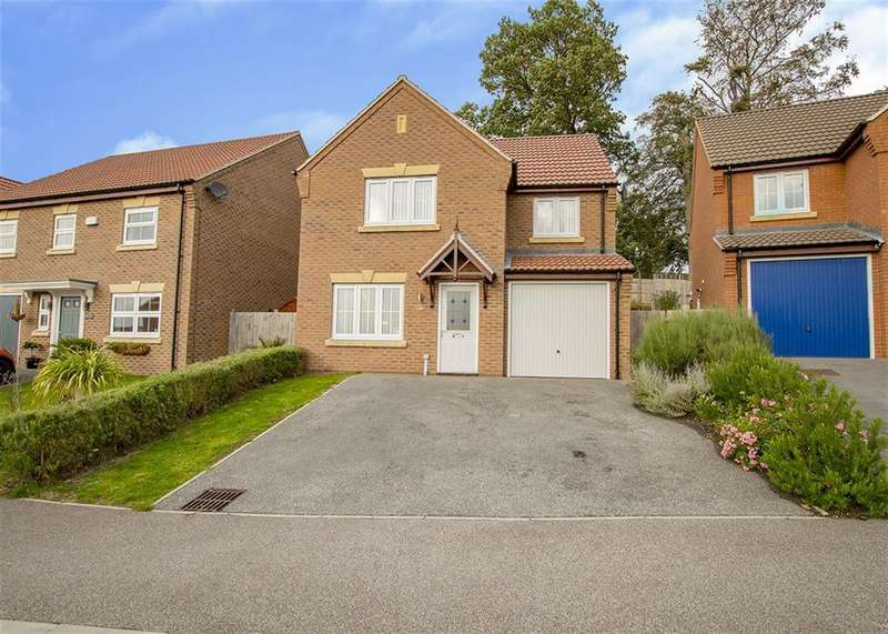 3 Bedrooms Detached House for sale in Meldrum Drive, Gainsborough, DN21 1GS