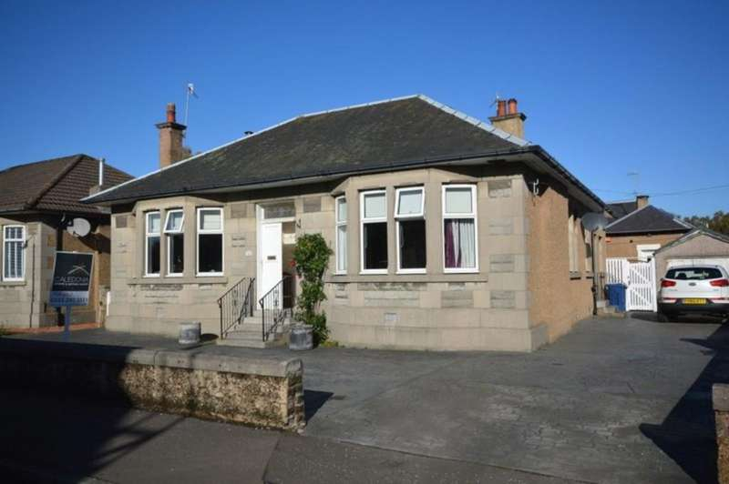4 Bedrooms Detached Bungalow for sale in Gibson Street, Dumbarton G82 2HQ