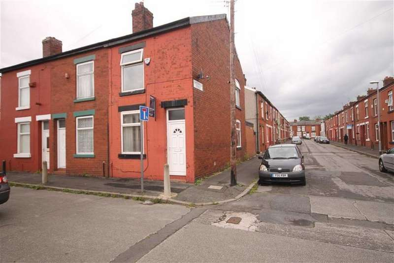 3 Bedrooms End Of Terrace House for sale in Roxburgh Street, Manchester