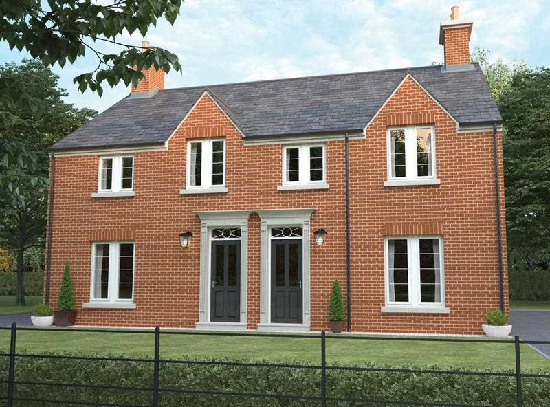 3 Bedrooms Semi Detached House for sale in The Woburn, Plot 11, Deer Park Lane, Off Coach Road, Ripley