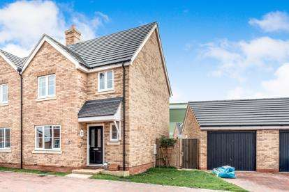 3 Bedrooms Semi Detached House for sale in Radcliffe Mews, Shortstown, Bedford, Bedfordshire