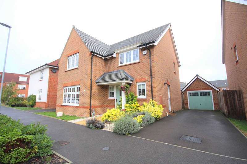 4 Bedrooms Detached House for sale in Goldcrest Road, Jennett`s Park