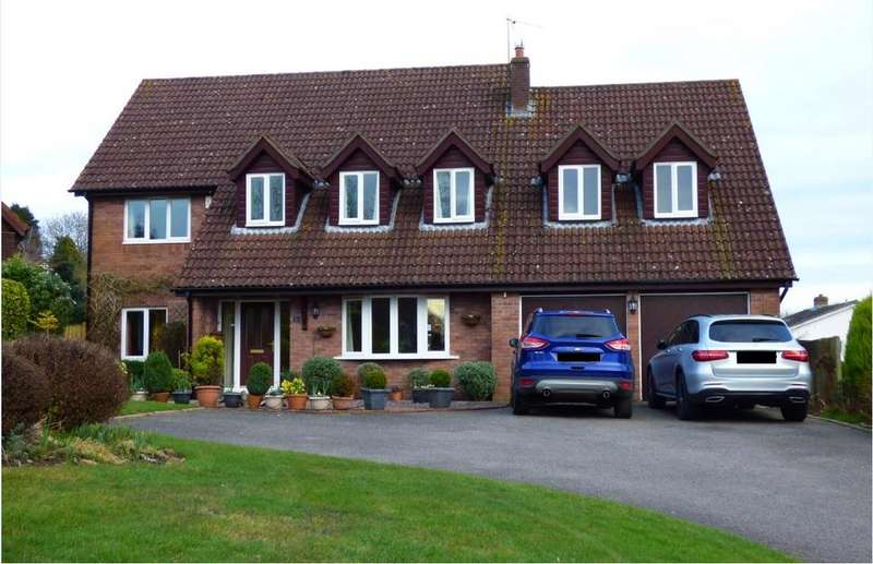 6 Bedrooms Detached House for sale in Grange Park, Chepstow