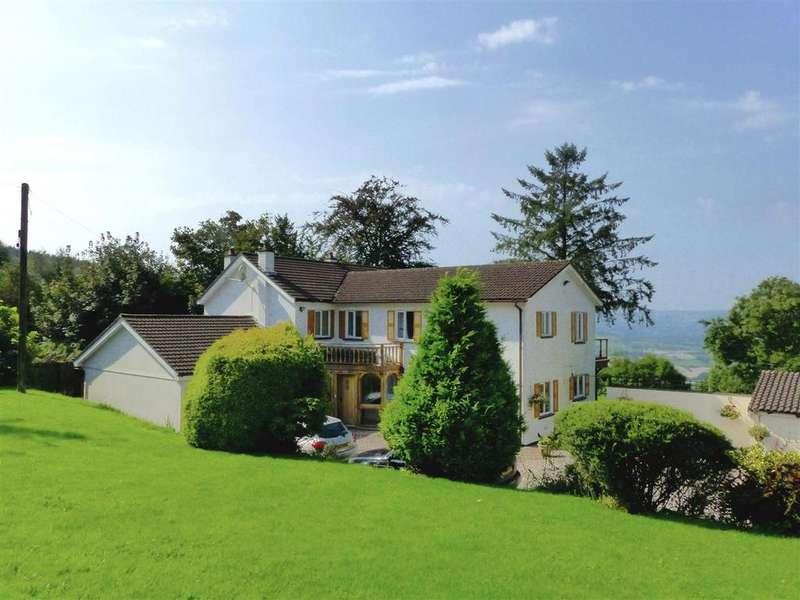 5 Bedrooms Detached House for sale in Laburnum, Pen Y Caer Mawr, Usk