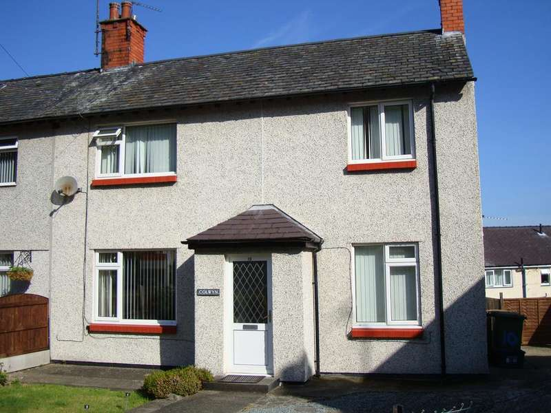 3 Bedrooms Semi Detached House for sale in PENLON GARDENS, BANGOR LL57