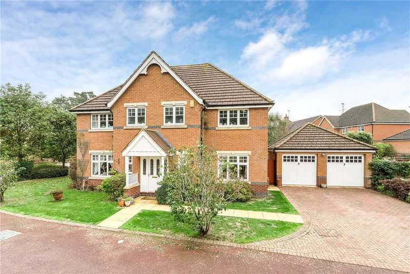 5 Bedrooms Detached House for sale in Rochester Close, Barton Seagrave, Northamptonshire, NN15