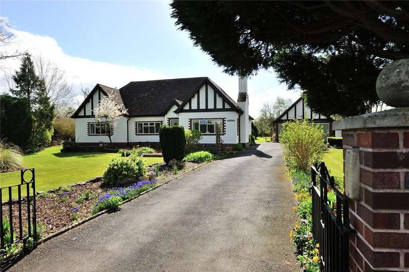 4 Bedrooms Detached Bungalow for sale in Stock Green, Redditch, Worcestershire