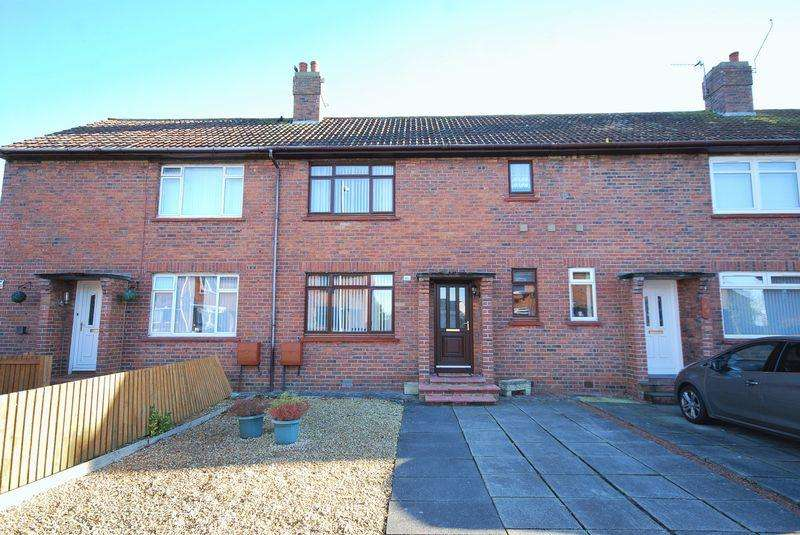 2 Bedrooms Terraced House for sale in 46 Hayhill, Ayr, KA8 0SL