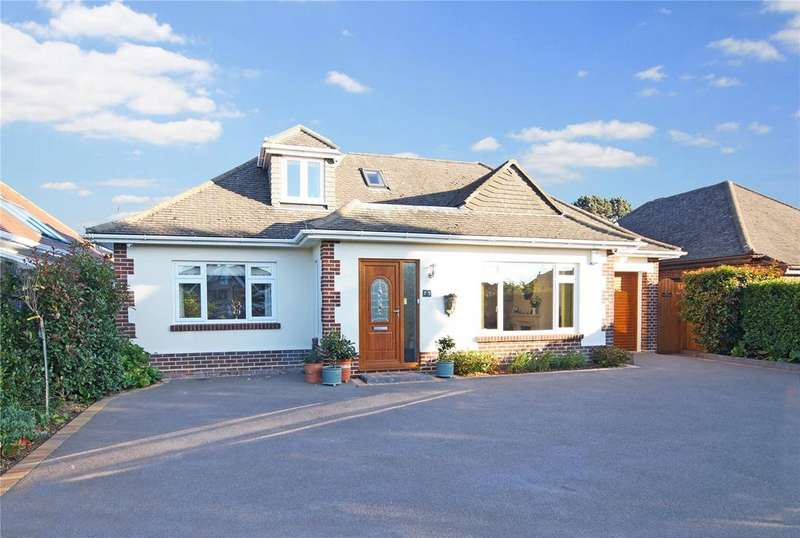 4 Bedrooms Detached Bungalow for sale in Dulsie Road, Talbot Woods, Bournemouth, BH3