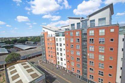 2 Bedrooms Flat for sale in Burgess House, 42 Sanvey Gate, Leicester, Leicestershire
