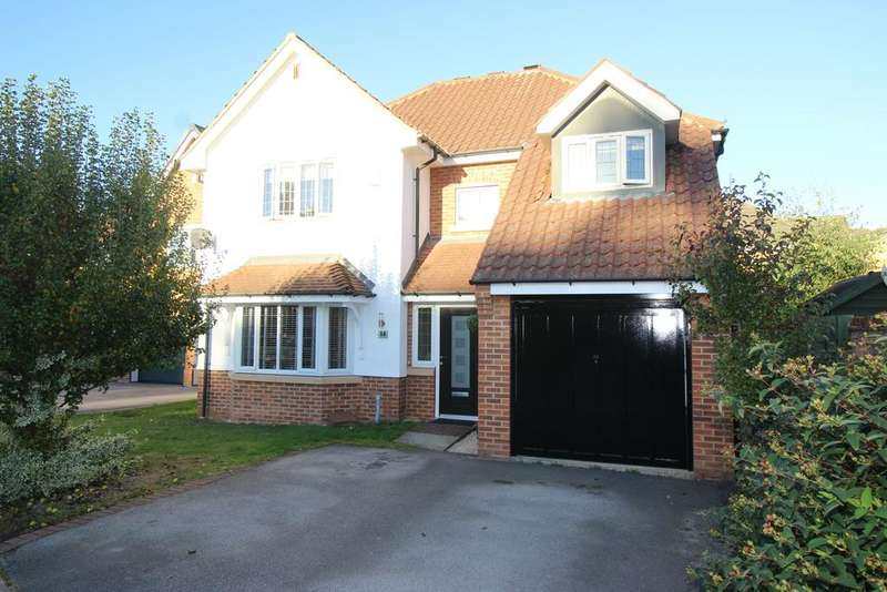 4 Bedrooms Detached House for sale in Harley Close, Worksop S80