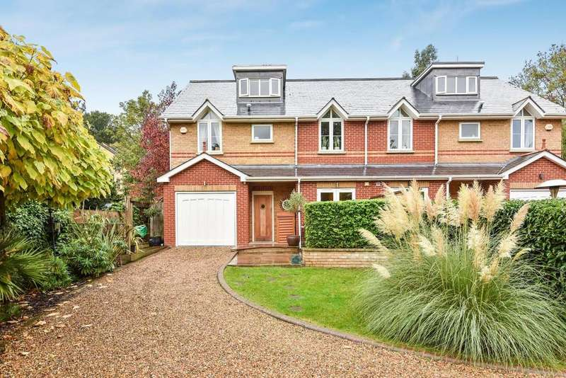 5 Bedrooms Semi Detached House for sale in Buckleigh Way, Crystal Palace