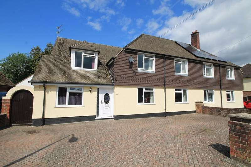 5 Bedrooms Semi Detached House for sale in Almond Avenue, Newbury, RG14