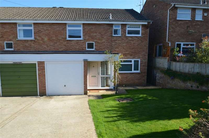3 Bedrooms Semi Detached House for sale in Coronation Road, Rodborough, Stroud, Gloucestershire