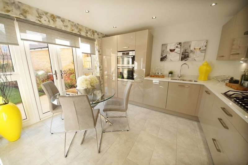 4 Bedrooms Detached House for sale in Oakwood Grange, Griffin Way, Hook