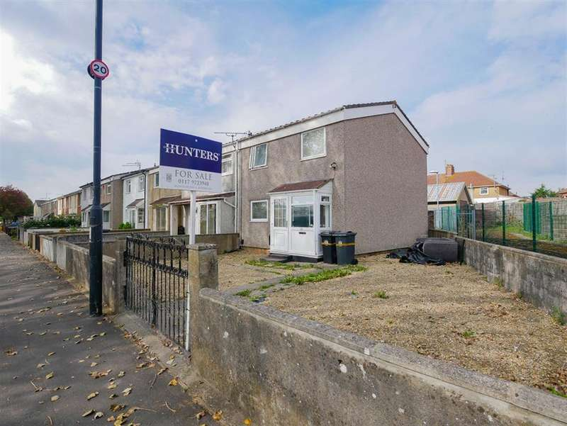 2 Bedrooms End Of Terrace House for sale in Creswicke Road, Knowle, Bristol, BS4 1TZ