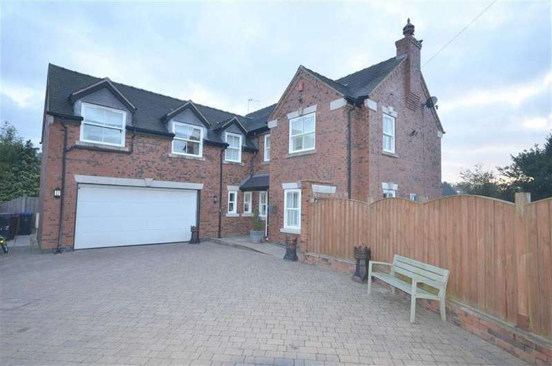 4 Bedrooms Detached House for sale in Caverswall Road, Blythe Bridge, Stoke-on-Trent