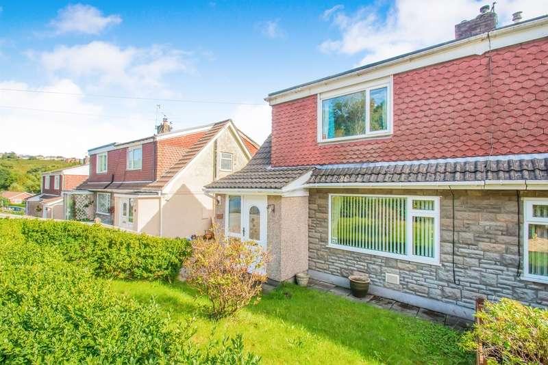 3 Bedrooms Semi Detached House for sale in Heathlands, Ystrad Mynach, Hengoed