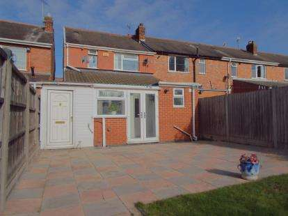 3 Bedrooms End Of Terrace House for sale in St. Ives Road, Leicester, Leicestershire
