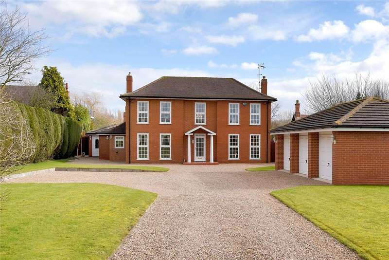 5 Bedrooms Detached House for sale in Main Street, Oxton, Southwell, Nottinghamshire
