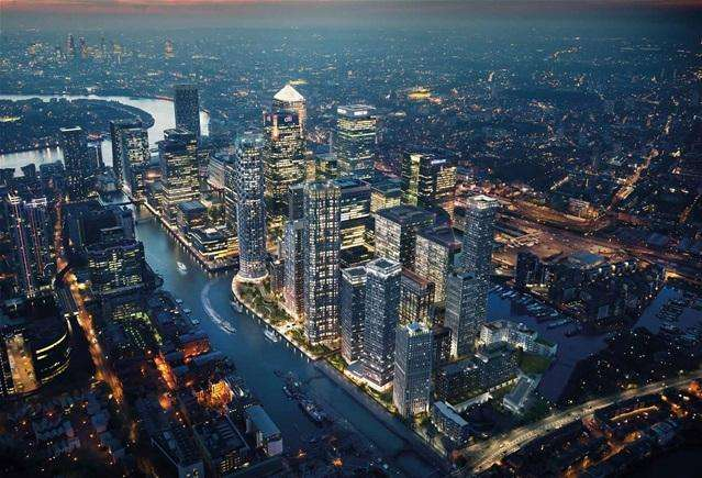 1 Bedroom Flat for sale in Canary Wharf, London