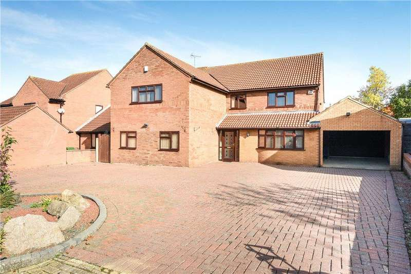 5 Bedrooms Detached House for sale in Barkestone Close, Emerson Valley, Milton Keynes