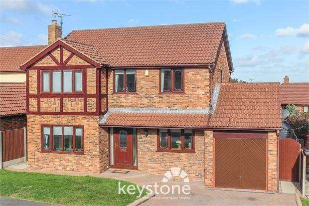 4 Bedrooms Detached House for sale in Fairoaks Drive, Connah's Quay, Deeside. CH5 4RR