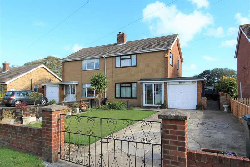 3 Bedrooms Semi Detached House for sale in Jubilee Road, North Somercotes, LN11 7LH
