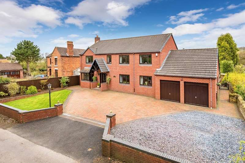5 Bedrooms Detached House for sale in Horton, Telford, Shropshire, TF6 6DT