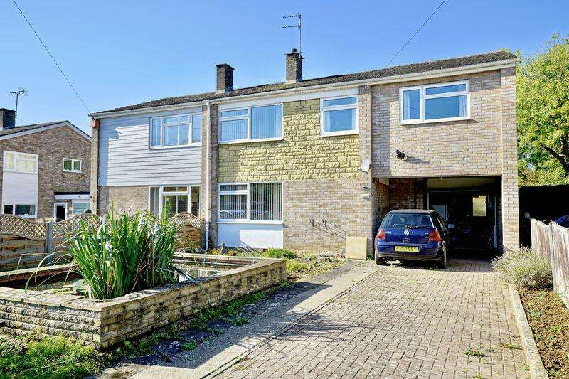 4 Bedrooms Semi Detached House for sale in High Street, Buckden, Cambridgeshire.