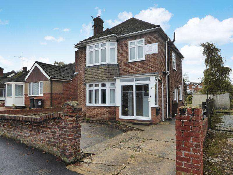 3 Bedrooms Detached House for sale in Evelyn Road, East Dunstable