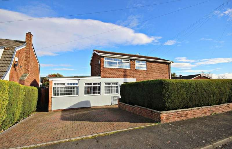 4 Bedrooms Semi Detached House for sale in Callander, Ouston, Chester Le Street