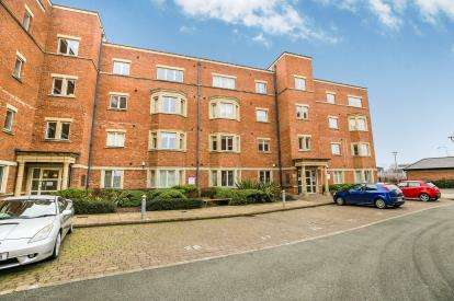 1 Bedroom Flat for sale in Caxton Place, Wrexham, Wrecsam, LL11
