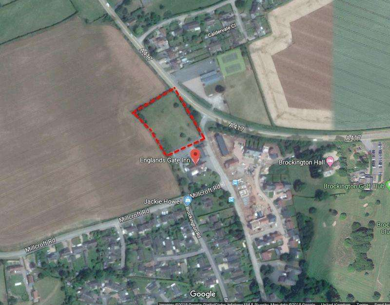 Plot Commercial for sale in BODENHAM