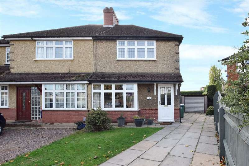 4 Bedrooms Semi Detached House for sale in Bramble Close, Garston, Hertfordshire, WD25