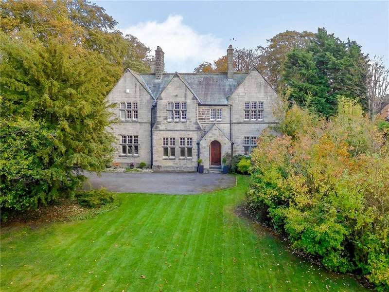 5 Bedrooms Detached House for sale in The Old Vicarage, 37 Otley Road, Killinghall, North Yorkshire, HG3