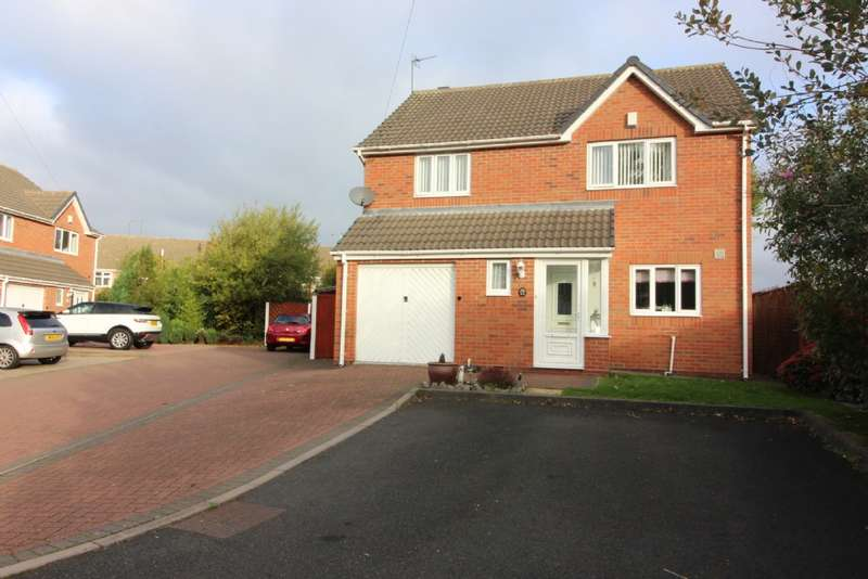 4 Bedrooms Detached House for sale in The Coppice, Willenhall