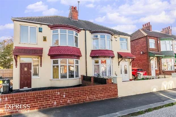 3 Bedrooms Semi Detached House for sale in Bailey Grove, Middlesbrough, North Yorkshire