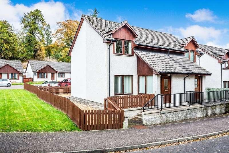 2 Bedrooms Semi Detached House for sale in The Orchard, Alness, IV17