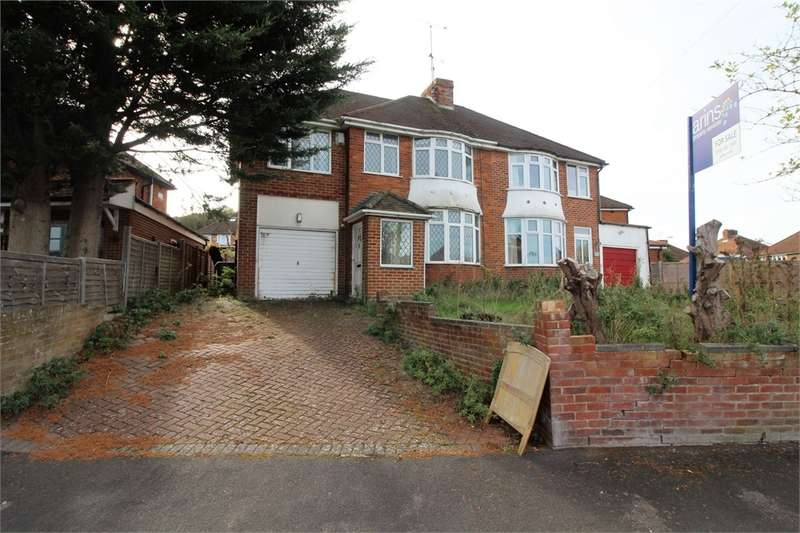 4 Bedrooms Semi Detached House for sale in Rydal Avenue, Tilehurst, READING, Berkshire