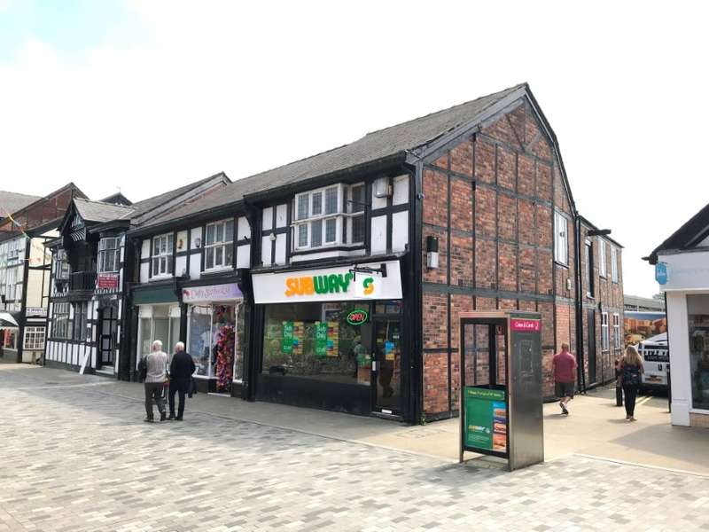 Retail Property (high Street) Commercial for sale in 46A Witton Street, Northwich, Cheshire