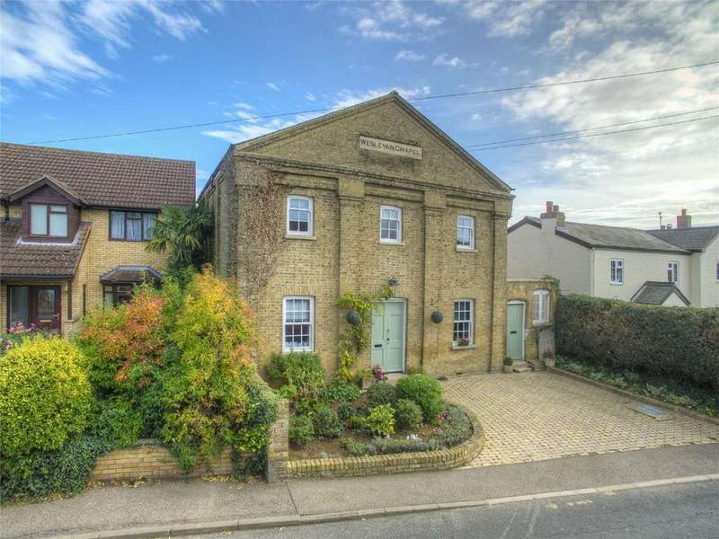 3 Bedrooms Detached House for sale in Chapel Street, Alconbury, Huntingdon, Cambridgeshire