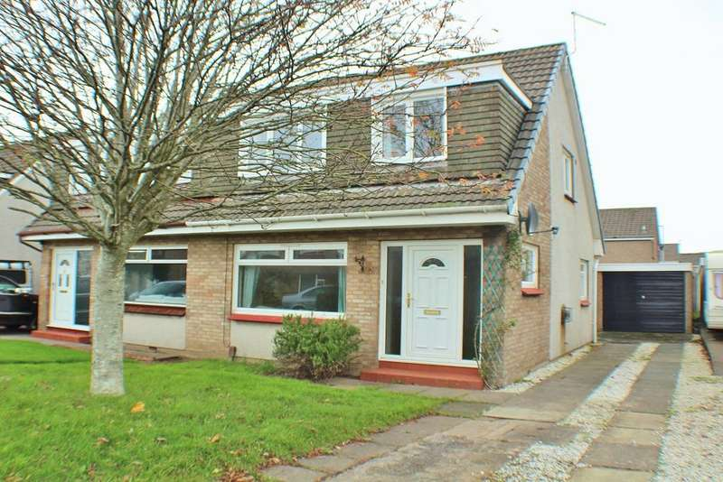 3 Bedrooms Semi-detached Villa House for sale in Corrie Place, Troon KA10
