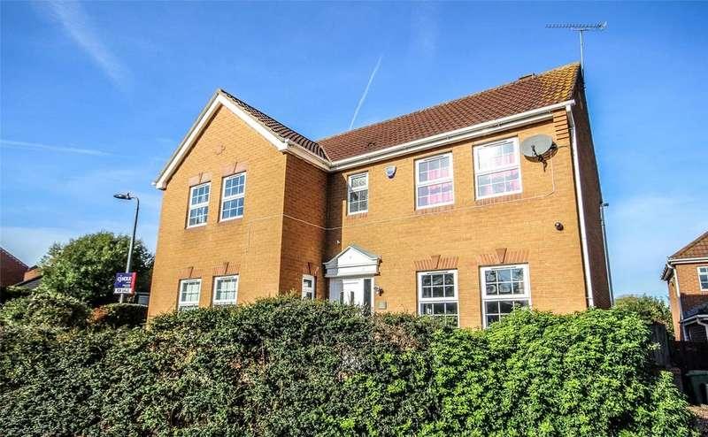 4 Bedrooms Detached House for sale in Juniper Way, Bradley Stoke, Bristol, BS32