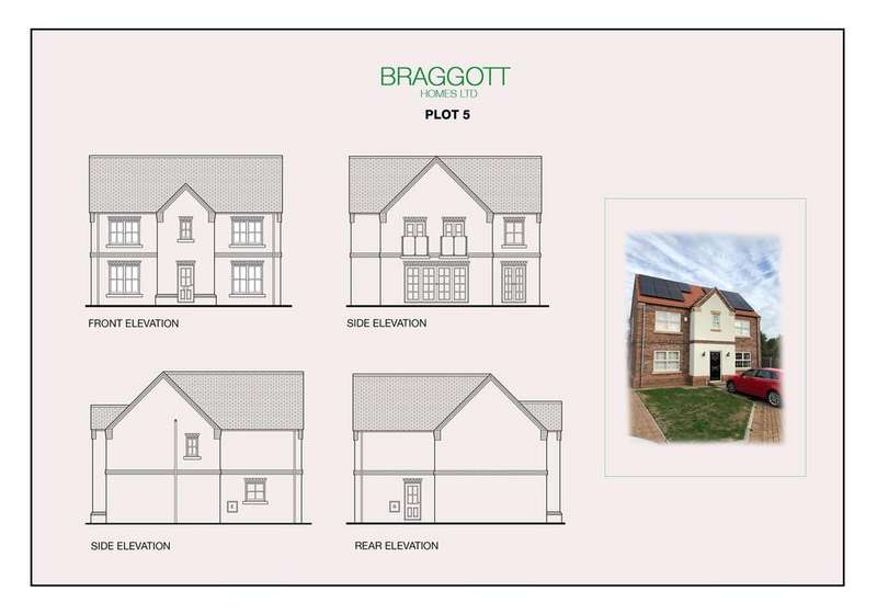 4 Bedrooms Detached House for sale in Chessington Gardens Thorne Road, Edenthorpe, Doncaster