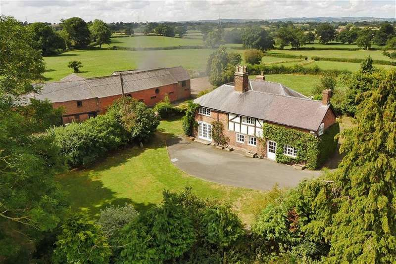 4 Bedrooms Detached House for sale in Dudleston Heath, Ellesmere, SY12