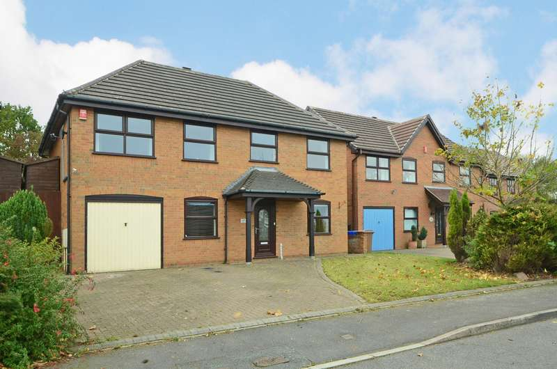 4 Bedrooms Detached House for sale in Stockholm Grove Birches Head ST1