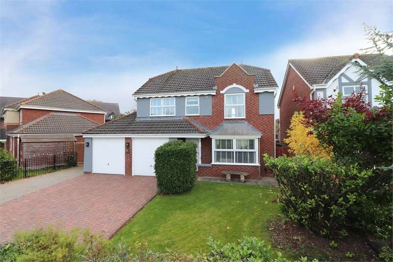 4 Bedrooms Detached House for sale in CA1 2WF Walkmill Crescent, Kingfisher Park, Carlisle, Cumbria